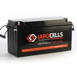 Jarocells LiFePO4 accu 24V / 100Ah