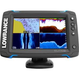 Lowrance Elite-7 Ti met TotalScan transducer