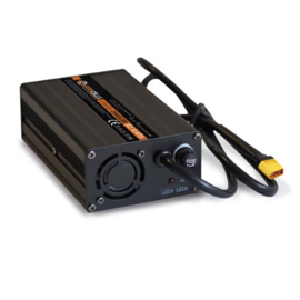 Jarocells 12V/6A Lithium acculader IP22 met TX60 male connector