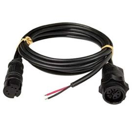 Lowrance Y-kabel 7-pin XDCR en voeding naar Hook²-4X
