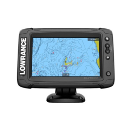 Lowrance Elite-7 Ti² met Active Imaging 3-in-1 transducer