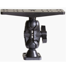 Scotty 173 2,25″ Ball Mount with Universal Fish Finder Mounting Plate