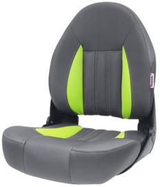 Tempress ProBax High-Back bootstoel antraciet/groen/carbon