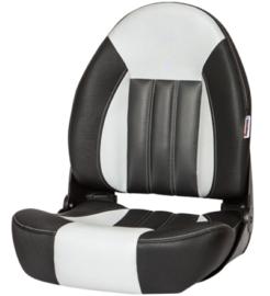 Tempress ProBax High-Back bootstoel zwart/grijs/carbon