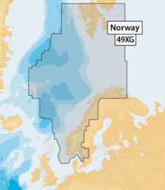 Navionics+ MicroSD 49XG Norway