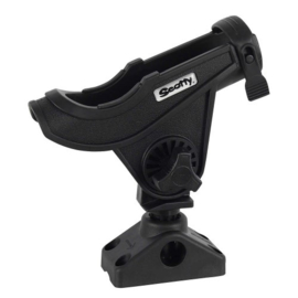 Scotty 280 Baitcaster/spinning rod holder with side/deck mount