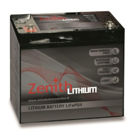 Zenith Lithium Accu 12V / 60Ah