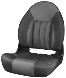 Tempress ProBax High-Back bootstoel zwart/antraciet/carbon