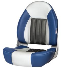 Tempress ProBax High-Back bootstoel blauw/grijs/carbon