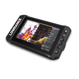 Lowrance Elite FS 7 met Active Imaging 3-in-1 transducer
