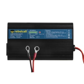 Rebelcell acculader 12,6V/10A Li-ion