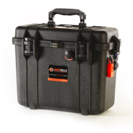 Jarocells LiFePO4 accu 12V / 75Ah Portable zwart