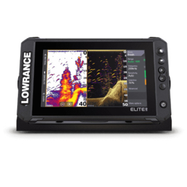 Lowrance Elite FS 9 met Active Imaging 3-in-1 transducer