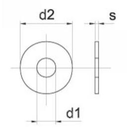 Carrosseriering M16 nylon