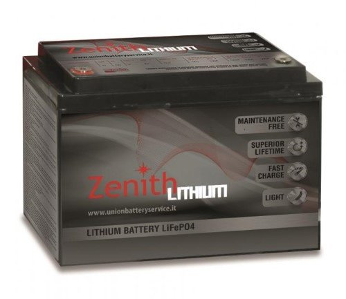 Zenith Lithium Accu 12V / 100Ah