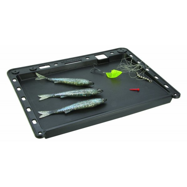 Scotty 455 Black bait board and accessoiry mount