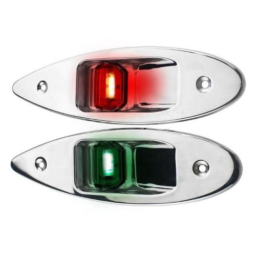 RVS inbouw LED navigatielampen