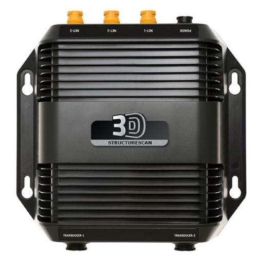 Lowrance StructureScan 3D transducer en module