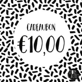 CADEAUBON €10,00