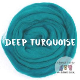 Round Blanket - DEEP TURQUOISE -  Pre Order (2 - 6 weeks )