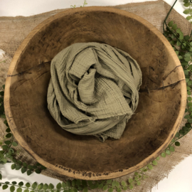 Organic Cotton Collection - Layer / Wrap -  beige /olive