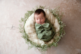 Bundle of Love Wrap & BOW option - Olive