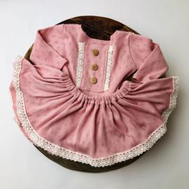 Newborn Romper met los rokje Special collection - Rose