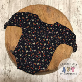 Romper Flower - Blue