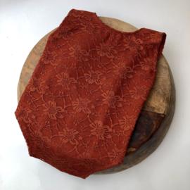Romper - Brick Lace - Size 80