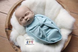 Bundle of Love Wrap & Butterfly KNOT option- Soft Mint