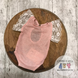 Romper Lace - rose