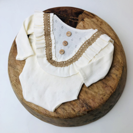 Newborn Romper Special collection - Ecru