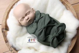Bundle of Love Wrap & BOW option - Forest Green
