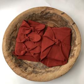 Bundle of Love Wrap - April Collection - Brick