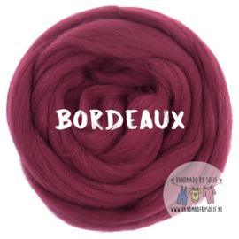Round Blanket - BORDEAUX - Pre Order (2 - 6 weeks )