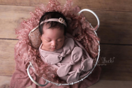 Bundle of Love Wrap & BOW option - Old Pink