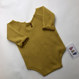Romper Luxury Collection 2-Way - Mustard - Size 80