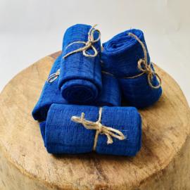 Layer/wrap lace - blue