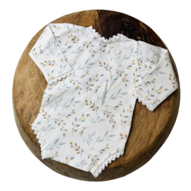 Newborn Romper - Flower Collection - Willow Lace