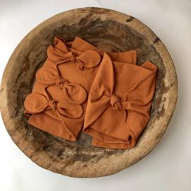 Bundle of Love Wrap - April Collection - Cognac