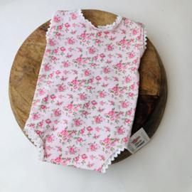 Sitter Romper - Flower - Rose lace - size 80