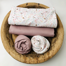 Flower Collection - Stretch Wrap - Cotton