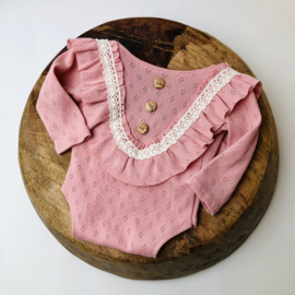 Newborn Romper Special collection - Rose