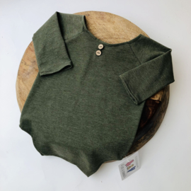 Romper - Moss green - Size 80