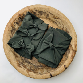 Bundle of Love Wrap - April Collection - Moss Green