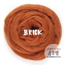 Round Blanket - BRICK - Pre Order (2 - 6 weeks )
