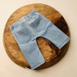 Newborn - Jeans - light blue