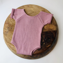 """Sitter Romper - Knitted Collection """"Baby"""" - Old Pink - Size 74"""