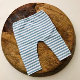 Newborn - Pants - stripe mint