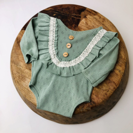 Newborn Romper Special collection - mint